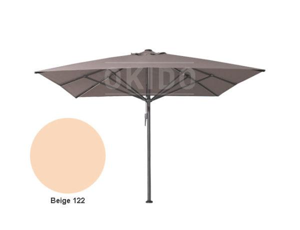 Horeca parasol vierkant Bella 400x400 beige