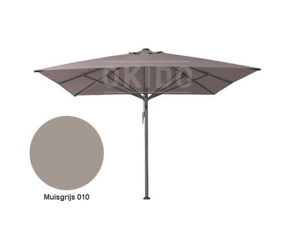 Horeca parasol vierkant Bella 400x400 grijs