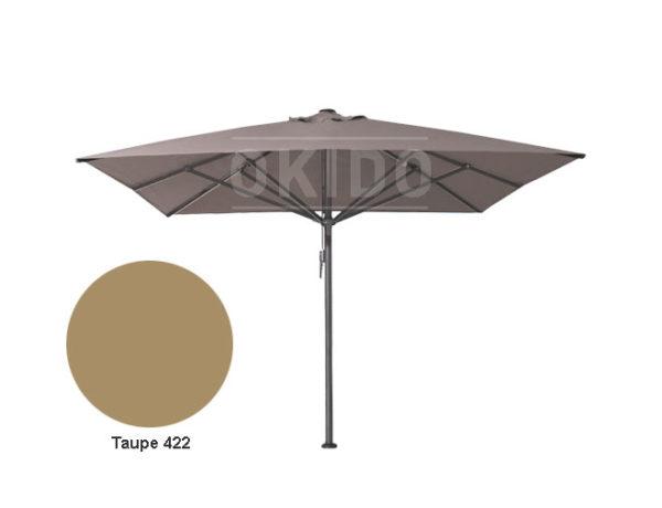 Horeca parasol vierkant Bella 400x400 bruin