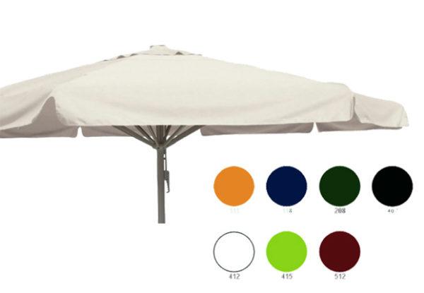 parasol karin 500xcm rond meerdere kleuren