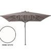 Horeca parasol vierkant Bella 400x400 helderwit