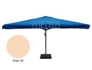 Horeca parasol karin 400x400 vierkant beige