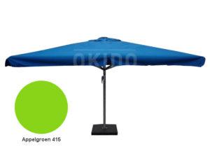Horeca parasol karin 400x400 vierkant appelgroen