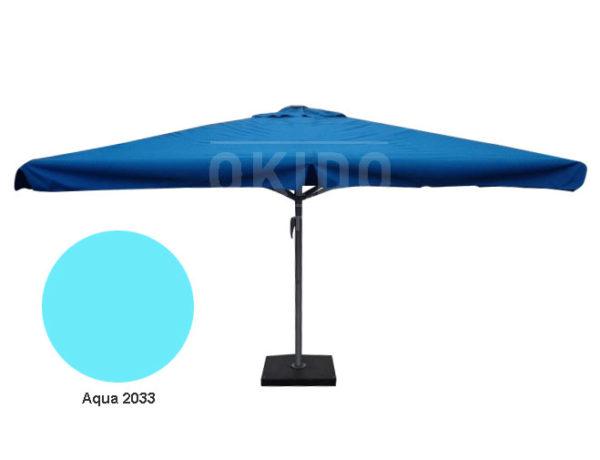 Horeca parasol karin 400x400 vierkant aqua