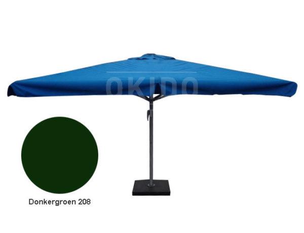 Horeca parasol karin 400x400 vierkant donkergroen
