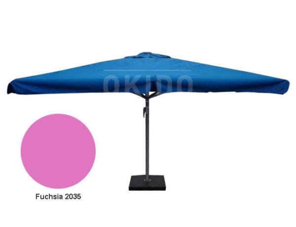 Horeca parasol karin 400x400 vierkant fuchsia