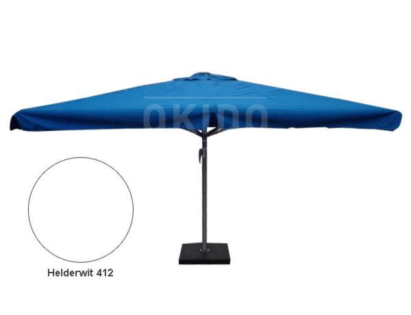 Horeca parasol karin 400x400 vierkant wit