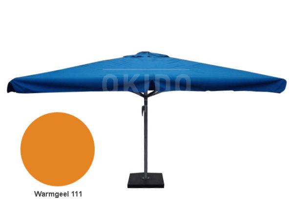 Horeca parasol karin 400x400 vierkant warmgeel