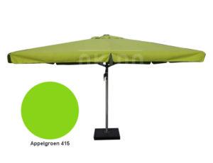 Horeca parasol karin 500cm rond groen