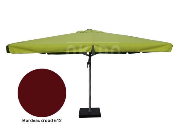Horeca parasol karin 500cm rond rood