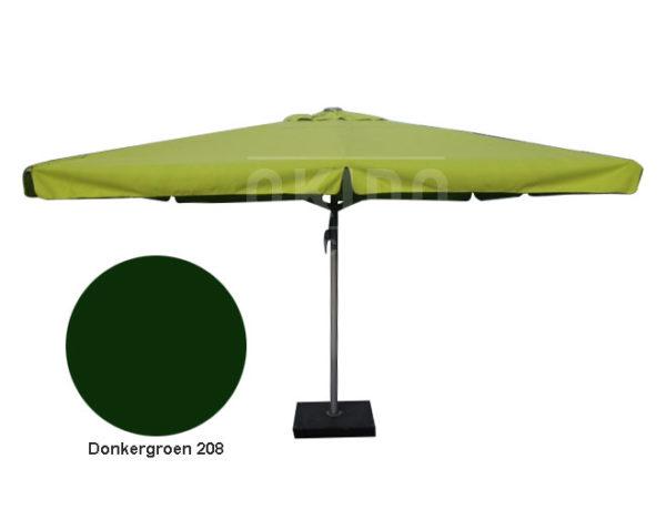 Horeca parasol karin 500cm rond donkergroen