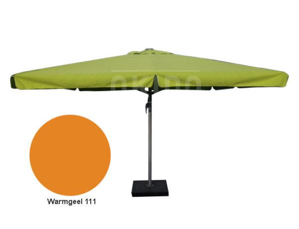 Horeca parasol karin 500cm rond oranje