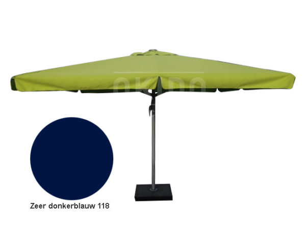 Horeca parasol karin 500 rond donkerblauw
