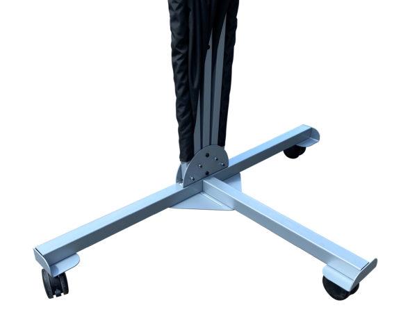 windscherm mobiel voet